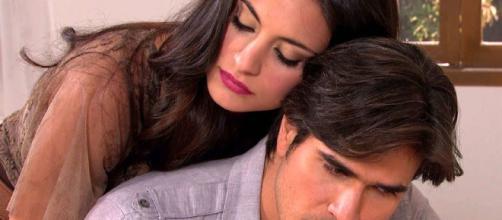 Os protagonistas de Coração Indomável (Reprodução/Televisa)
