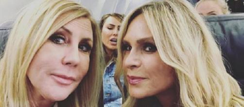 'The Real Housewives of Orange County' stars Vicki Gunvalson and Tamra Judge (Photo credit: Tamra Judge/Instagram)