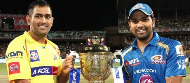 CSK vs MI - Indian Cricket Team ...(Image via IPL2018/Twitter)