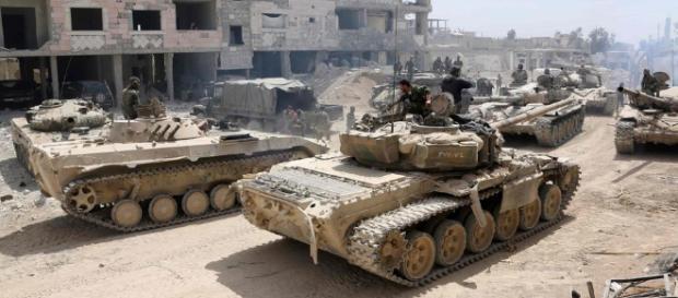 Primera parte de los acontecimientos en Siria luego del ataque de Estados Unidos