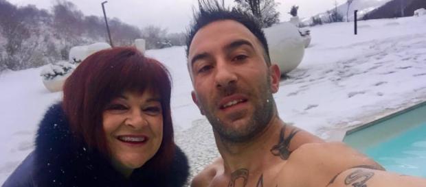 Simone Coccia Colaiuta con l'onorevole Pezzopane