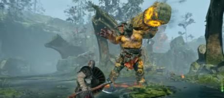God of War - New Gameplay: Trolls, Exploration, and More | PS Underground [Image Credit: PlayStation/YouTube screencap]