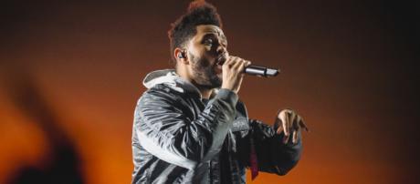 The Weeknd performing. (Image: Flickr/Anton Mak)