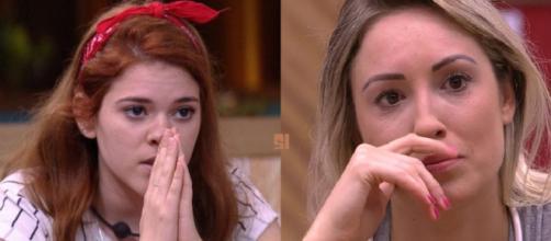 Ana Clara decide criticar Jéssica e ainda a xinga: 'Idiota'.