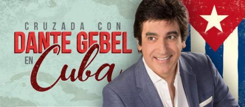 Dante Gebel llega a Cuba em octubre
