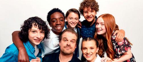 El elenco de Stranger Things lleno de juventud