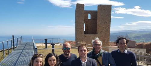 Foto: sopralluogo alla Torre delle Stelle - Museo Maurolico per la nuova gestione