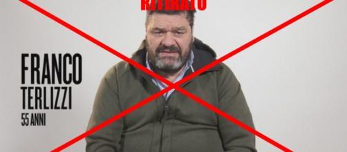 Isola dei Famosi News: Franco Terlizzi ritirato, comunicato ufficiale