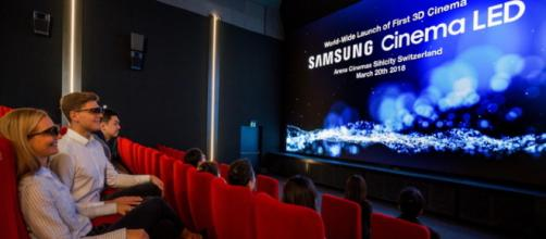 La Pantalla LED Cinema desarrollada por Samsung.