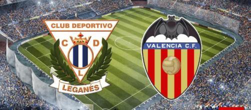 El Leganes se enfrenta al Valencia