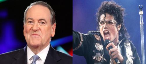 Mike Huckabee, Michael Jackson, via Twitter
