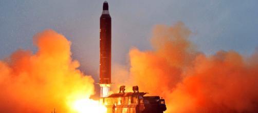 Prueba de misiles de rusia en Letonia