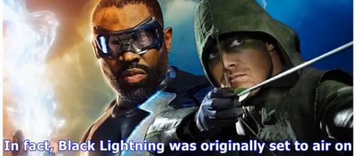 Stephen Amell Thinks Arrow/Black Lightning Crossover Will Happen [Image Credit: BrideSide/YouTube screencap]
