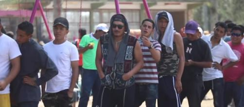 The 'caravan of immigrants' is heading for the United States [Image via Associated Press / YouTube Screencap]