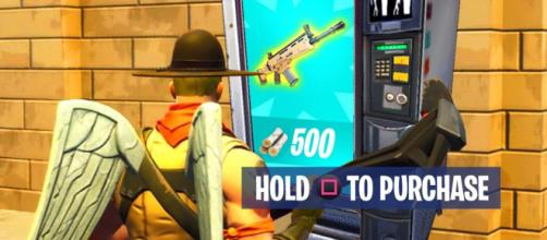 "Vending machines are coming to ""Fortnite Battle Royale."" Image Credit: Own work"