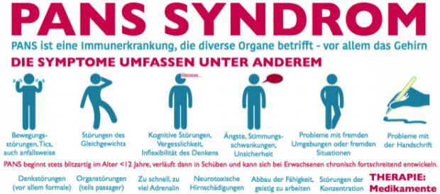 Das PANS-Syndrom ist eine dramatische Erkrankung und bei Erwachsenen unheilbar.