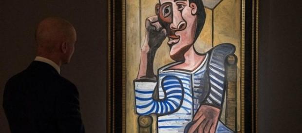 El marinero de Picasso: puede ser subastado por 70 millones de dólares - cambio16.com
