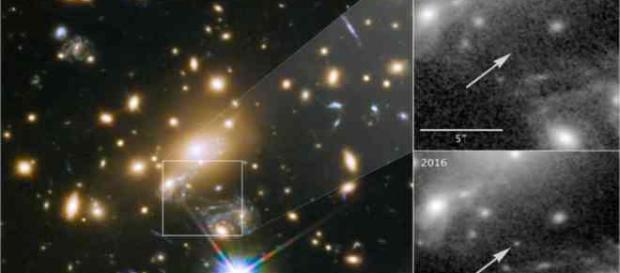 Icarus la stella più lontana via Theguardian.com