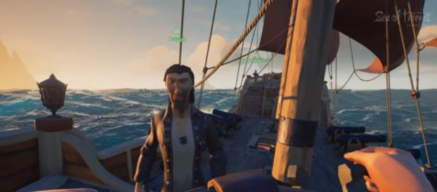 'Sea of Thieves' image. - [Jackfrags / YouTube screenshot]