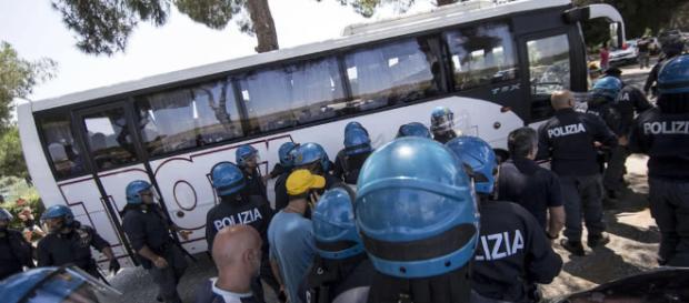 La caravana de migrantes centroamericanos se encuentra actualmente en Oaxaca y se dirige hacia el norte.