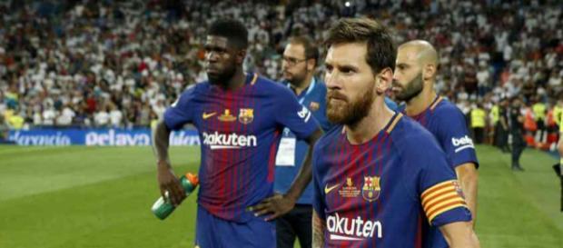 Leo Messi não está satisfeito com essa situação