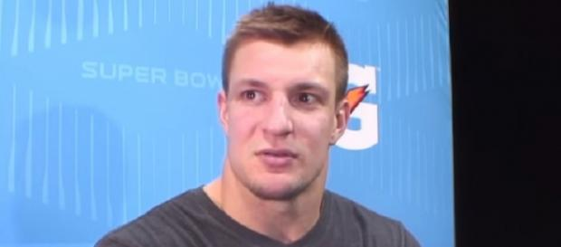 Rob Gronkowski remains mum about his plans for next season (Image Credit: NFL World/YouTube)