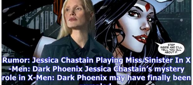 Rumor: Jessica Chastain Playing Miss Sinister In X-Men: Dark Phoenix [Image Credit: BrideSide/YouTube screencap]