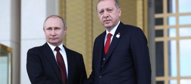 Vladimir Putin y Recep Tayyip Erdogan lanzan la construcción de la ... - elcomercio.pe