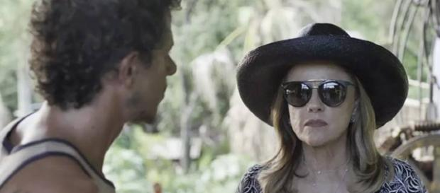 Zé Victor e Sophia em 'O Outro Lado do Paraíso'.