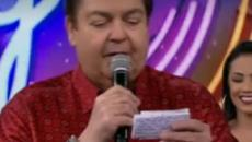 Faustão cutuca cantor Zezé e o comparou ao Tarzan: 'ele gritava e não cantava'
