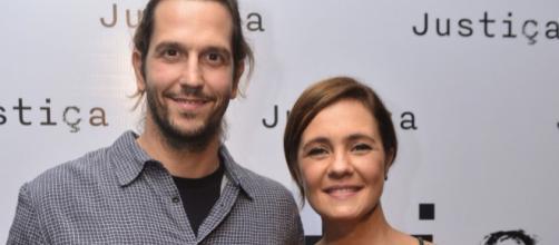 Adriana Esteves, esposa do ator, também estará na novela