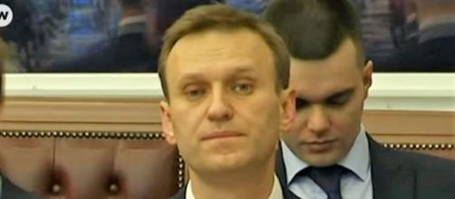 Alexei Navalny barred from running for president. - [Image via DW English / YouTube screencap]