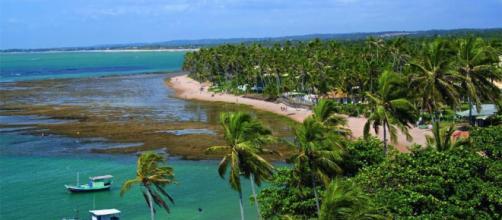 As praias mais bonitas do Brasil.
