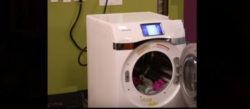 Boy dies playing hide and seek in clothes dryer. - [Photo: CNet / YouTube screenshot]