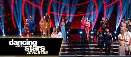 """Dancing with the Stars: Athletes"" premiered on April 30 with two eliminations [Image: Dancing with the Stars/YouTube screenshot]"