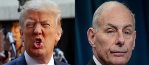 Donald Trump, John Kelly, via Twitter