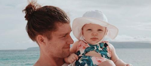 'LPBW' star Jeremy Roloff and baby Ember Jean Roloff / (Photo via Audrey Mirabella Roloff, Instagram)