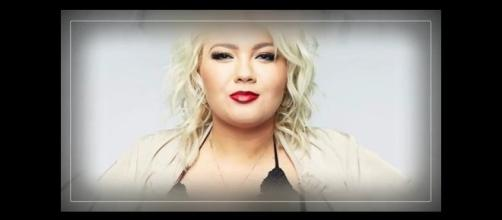 MTV reality star Amber Portwood. [Image source: Beautiful Life / YouTube.]