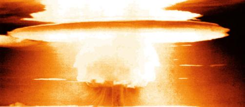 Nuclear Explosion [image courtesy United States government/wikimedia commons]