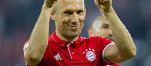 Robben será baja ante el Madrid