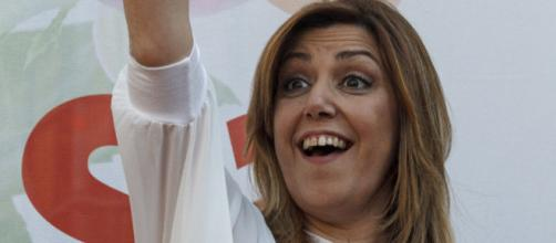 Susana Díaz es pitada en huelva