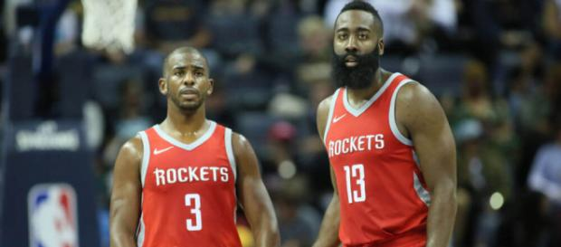 Chris Paul y James Harden la combinación perfecta... - fanragsports.com