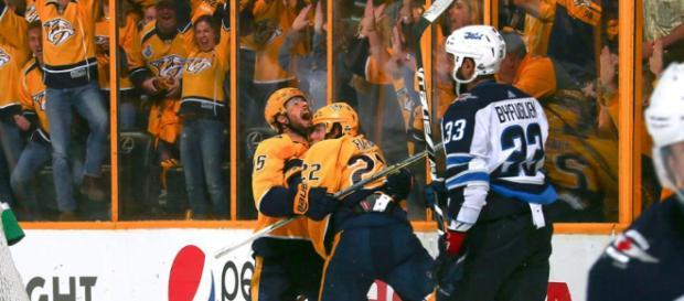 Fiala fue el héroe del juego 2 en la serie vs Winnipeg. NHL.com.