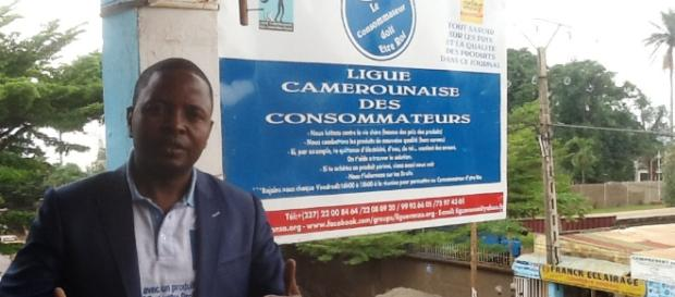Le président réélu de la LCC Delor Magellan Kamseu Kamgaing