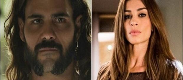 Lívia e Mariano se encontram na novela