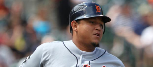 Miguel Cabrera is off to a fast start in 2018. [Image viaKeith Allison/Flickr]