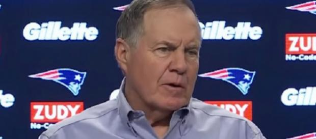 Patriots head coach Bill Belichick will now buckle down to work. - [Image Credit: NFL World / YouTube screencap]