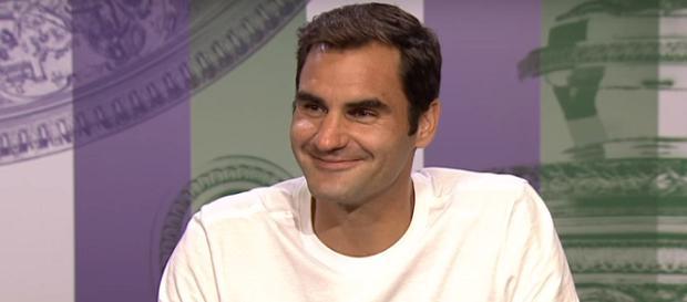Roger Federer won the 2017 Wimbledon. Photo: screenshot via Wimbledon channel on YouTube