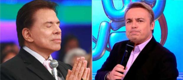 Silvio Santos e Gugu se encontrarão e Gugu irá presentear Silvio com algo inusitado. (foto reprodução)