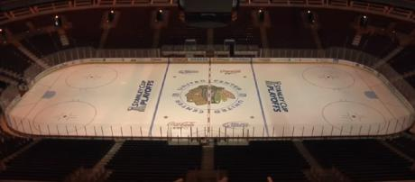 United Center will be empty for the playoffs - image - bhtv/YouTube